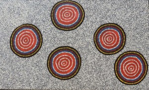 Water Holes  450mm x 750mm