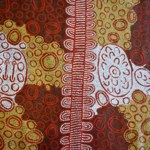 Ancestral Travels 920mm x 980mm