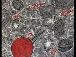 Mandel Aboriginal Art Gallery, Australian indigenous art, aboriginal arts, Fire and Rain dreamings, Yondee Shane Hansen