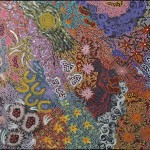 Azeza Possum Ramzan - Grandmother's Country 900 X 2000 mm